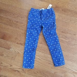 NWT old navy heart jeggings